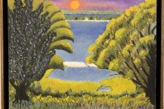 Sunset on Menemsha Pond